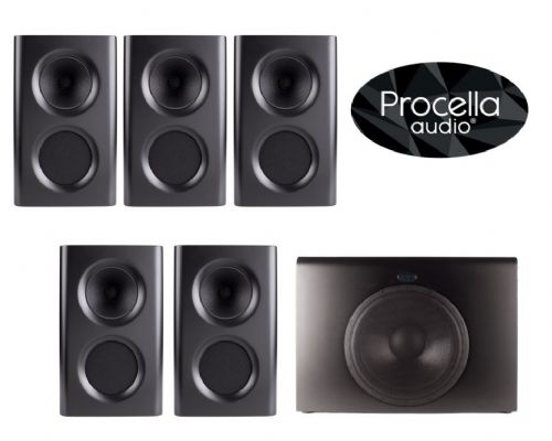 Procella Audio 5.1 Home Cinema Speaker Package